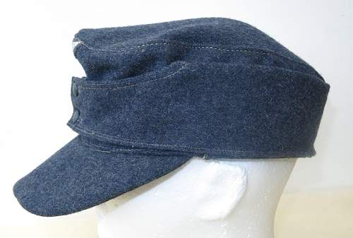 Click image for larger version.  Name:Luftwaffe OR's M43 cap. RB numbered 003.jpg Views:28 Size:140.0 KB ID:843246