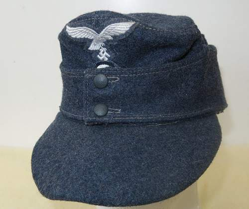Click image for larger version.  Name:Luftwaffe OR's M43 cap. RB numbered 015.jpg Views:22 Size:164.8 KB ID:843256