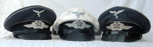 Click image for larger version.  Name:a group of HG Division visor caps 005.jpg Views:9 Size:66.2 KB ID:843272