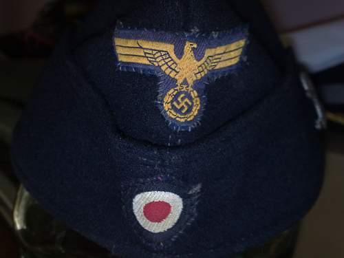 Kriegsmarine sidecap:)