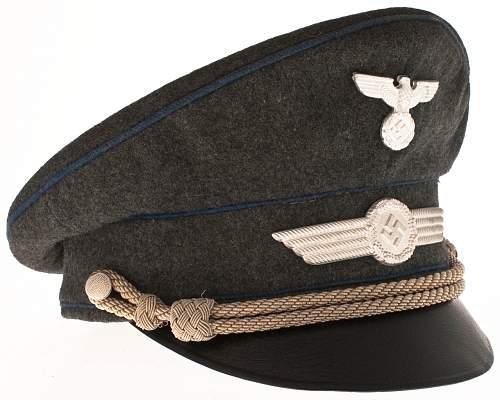 Visor for an Obscure Elite Luftwaffe Unit!