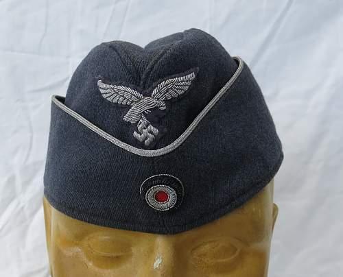 Click image for larger version.  Name:Luftwaffe Officer Side Cap 001.jpg Views:692 Size:213.6 KB ID:857047