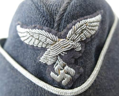 Click image for larger version.  Name:Luftwaffe Officer Side Cap 005.jpg Views:180 Size:214.3 KB ID:857051