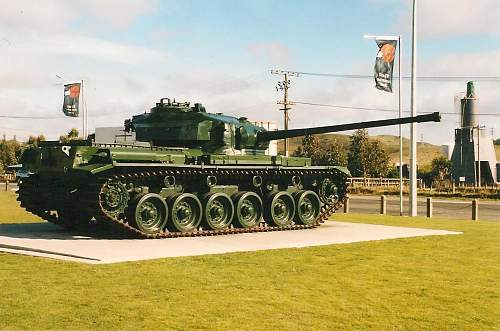 DAK Panzer Other Ranks M40 cap in a New Zealand museum
