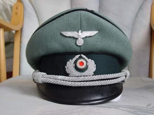 Officer Pioneer Visor  - help authenticating please