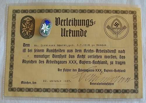 Arbeitsgau XXX Bayern-Hochland