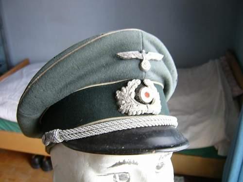 My last Officer cap