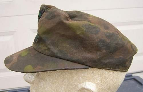 Waffen-SS Camouflage Cap