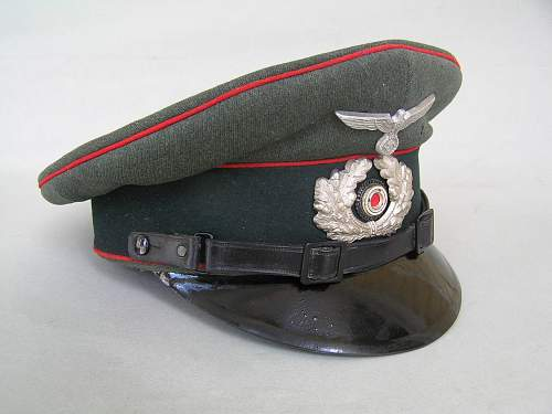 Salty Heer enlisted artillery visor