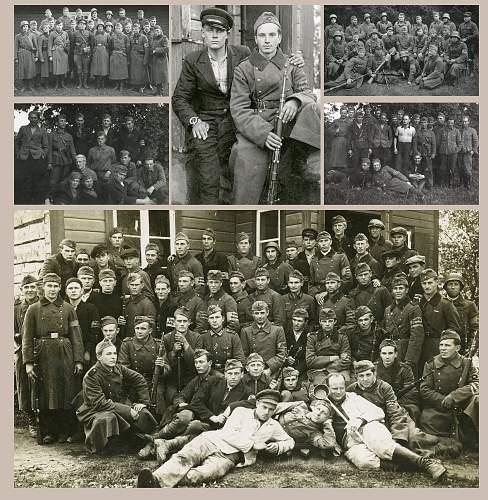 Click image for larger version.  Name:Peale major Hans Hirvelaane langemist 20.08.1941 asus pataljoniülema kohale major August Ki.jpg Views:27 Size:231.9 KB ID:874710