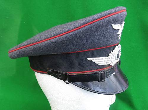 Click image for larger version.  Name:Luftwaffe Flak NCO Schirmmütze 003.jpg Views:43 Size:219.8 KB ID:879649
