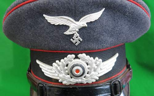 Click image for larger version.  Name:Luftwaffe Flak NCO Schirmmütze 004.jpg Views:99 Size:232.6 KB ID:879651