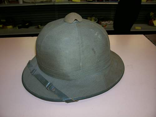 Click image for larger version.  Name:Tropical helmet 001.jpg Views:21 Size:123.5 KB ID:886792