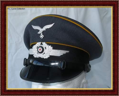 Caps in a frame...