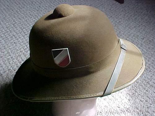 Heer 2nd Pattern Pith Helmet