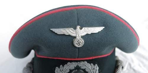 Click image for larger version.  Name:Panzer officer visor cap by Erel 005.jpg Views:140 Size:82.3 KB ID:907050