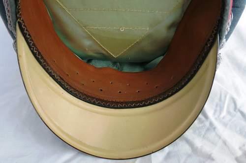 Click image for larger version.  Name:Panzer officer visor cap by Erel 013.jpg Views:45 Size:98.9 KB ID:907057