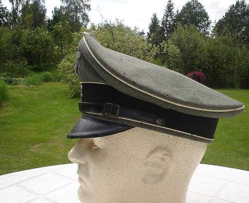 My (half) WSS em/NCO's Schirmmütze