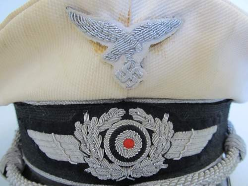 Luftwaffe Officer Summer white top by CW