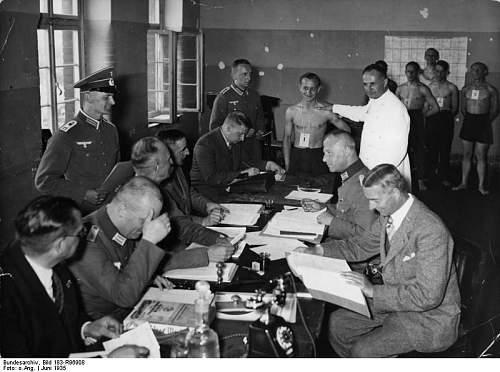 Click image for larger version.  Name:Bundesarchiv_Bild_183-R96908,_Potsdam,_Musterung_für_die_Wehrmacht.jpg Views:16 Size:63.7 KB ID:916374