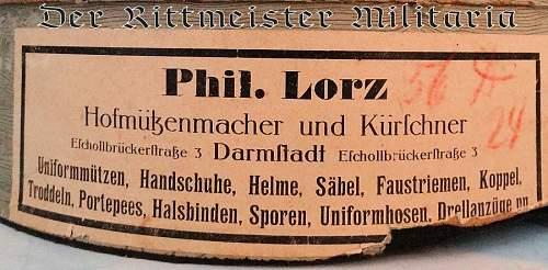 Panzer Visor cap?