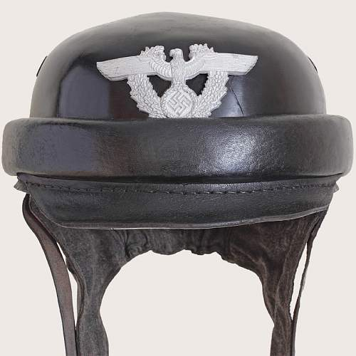 Police Motorcyclists Helmet.