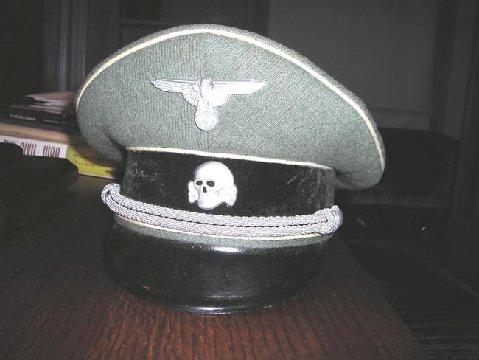 Grey SS cap of late make....