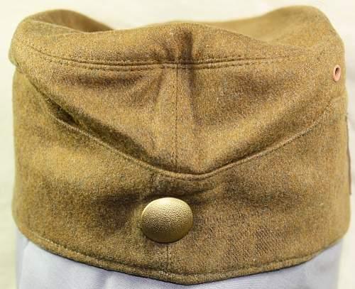 SA overseas cap
