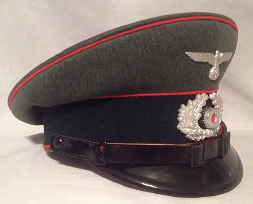 SOS artillery visor