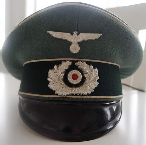 EM/NCO or Officer schirmmutze