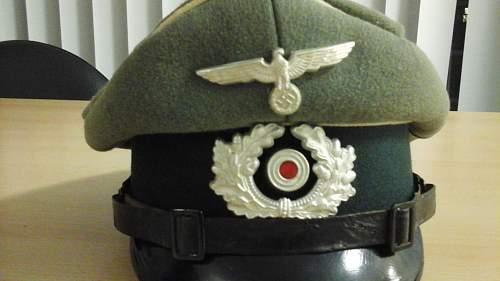 Infantry and Panzer Schirmmutze