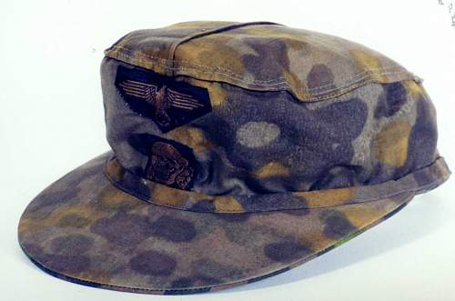 Click image for larger version.  Name:SS 2nd Model Camouflaged M1943 Cap Autumn.jpg Views:48 Size:77.0 KB ID:949439