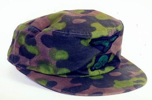 Click image for larger version.  Name:SS Second Model Camouflaged Cap with insignia Summer.jpg Views:32 Size:66.3 KB ID:949440