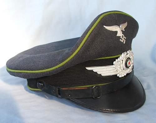 Click image for larger version.  Name:NCO Air Traffic Control visor cap 003.jpg Views:12 Size:218.2 KB ID:950425
