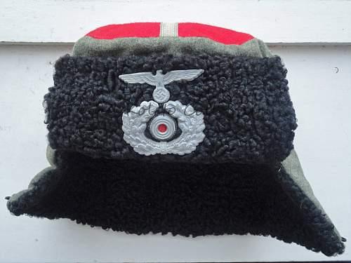 Kubanka from 2nd Sberian Cossack Reginment -Kolwitz, PRAG