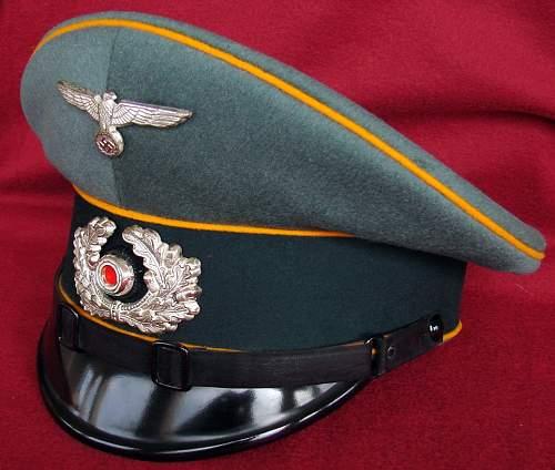 Army Air Corps Veterans Estate, German Visor
