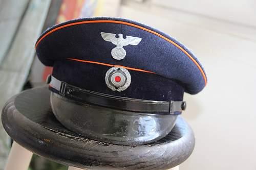 My new Reichspost visor