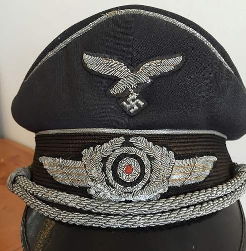 12 year luftwaffe visor