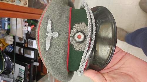 Help with Poliece and Heer artillery visors
