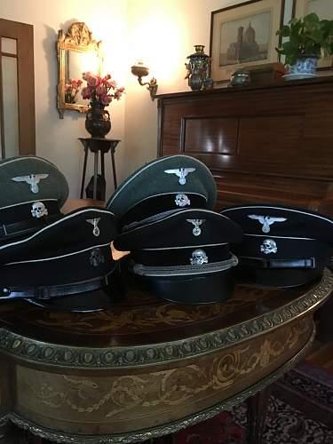authentic SS caps.