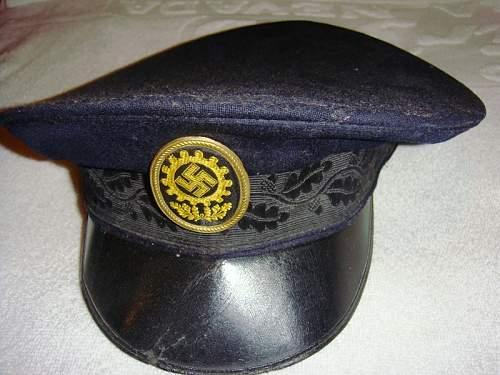 DAF Visor Cap