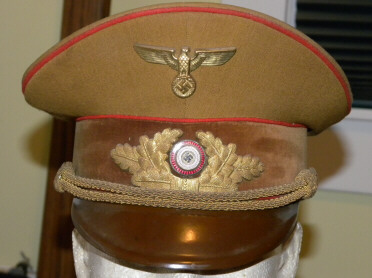 Political Leader Burkert cap .