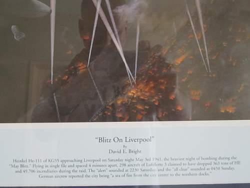 Liverpool Blitz May 3rd1941.