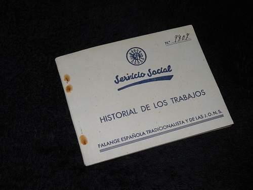 Spanish / Falange items