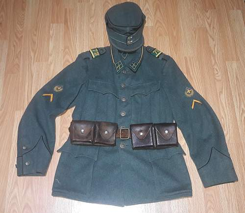 Swiss WW2 Waffenrock Infantry Uniform