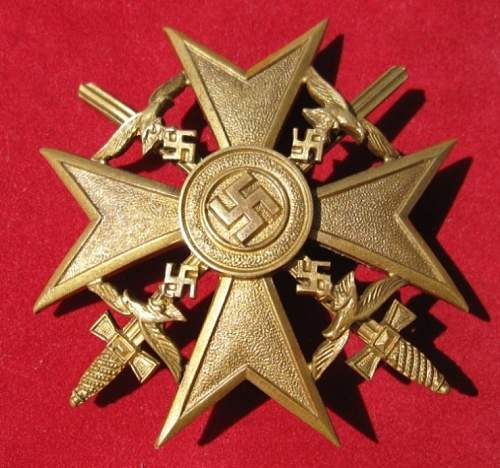 Click image for larger version.  Name:087 Spanish Cross in Gold with swords b.jpg Views:536 Size:242.9 KB ID:103248