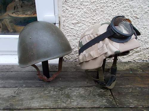helmets past and present
