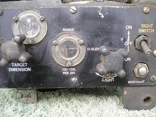 WW2 Warbird Gunsight & Bombsight Collection, RAF, RAAF, USAAF