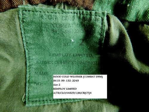 British DPM Camouflage