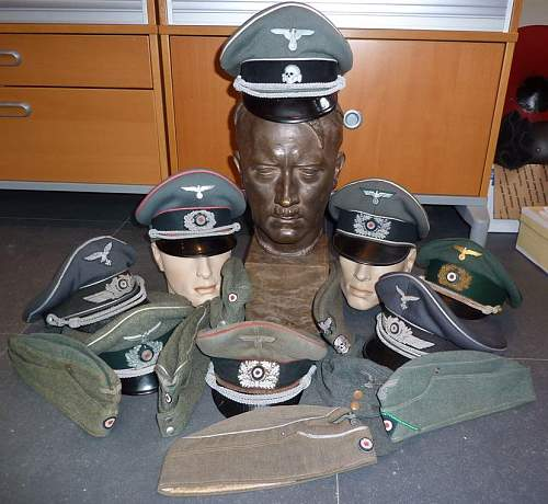 My headgear collection